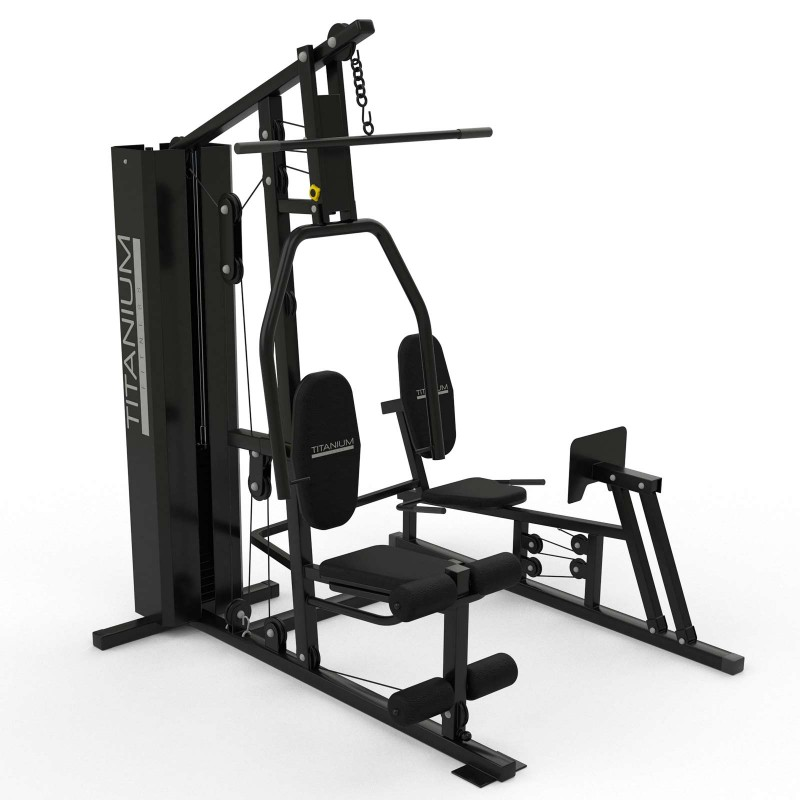 Multiestação Titanium Fitness GC57 com Leg Press