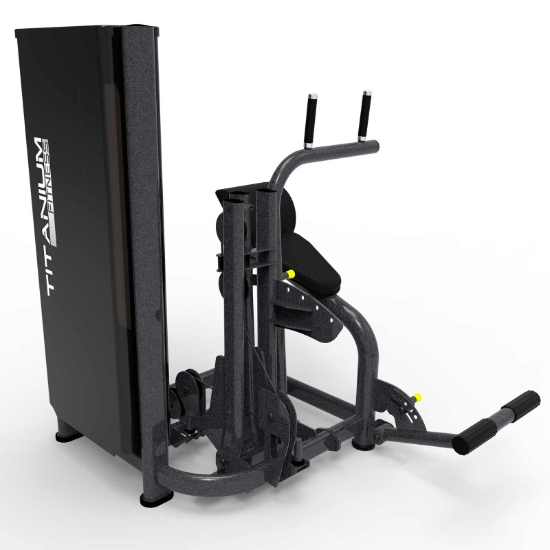 Abdominal Back Machine Titanium Fitness Special
